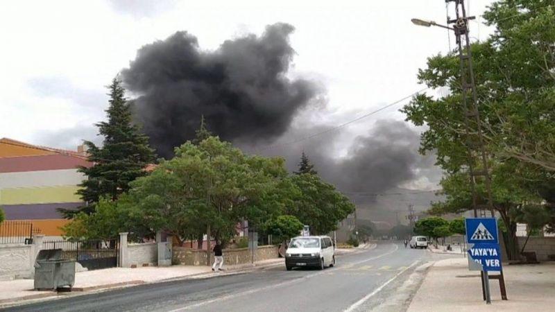 Okuldan yükselen yoğun duman paniğe neden oldu! Kundaklama iddiası