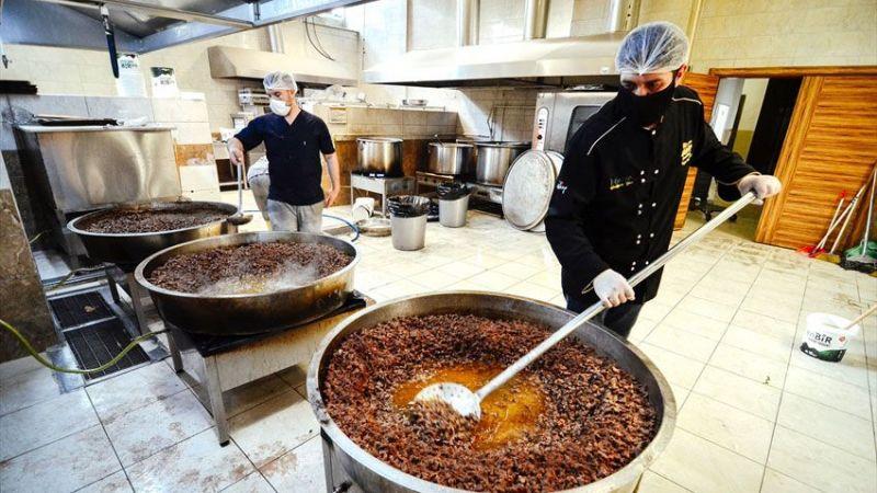 Konya'nın meşhur düğün yemekleri evlere servis yapılıyor