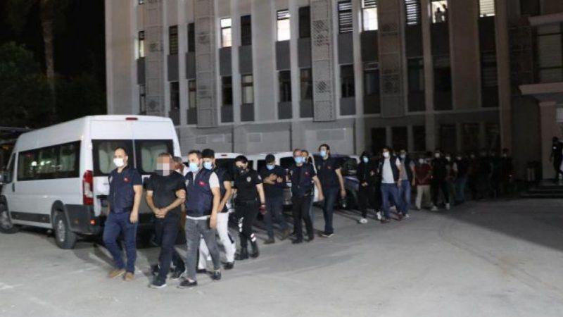 Konya ile birlikte 7 ilde operasyon! 21 gözaltı var