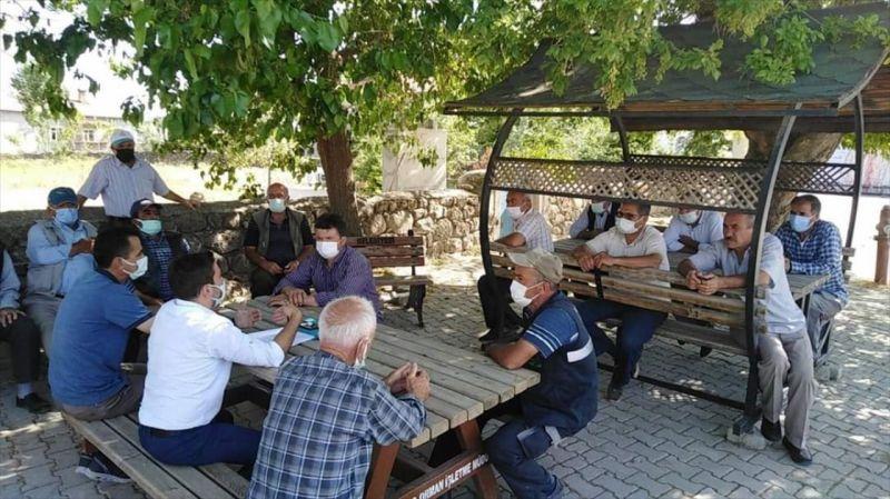 Seydişehir'de kuraklık durum değerlendirmesi toplantısı yapıldı