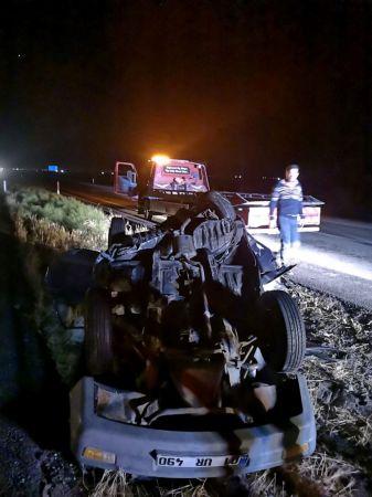 Konya'da tırın çarptığı park halindeki otomobildeki kişi ile torunu hayatını kaybetti