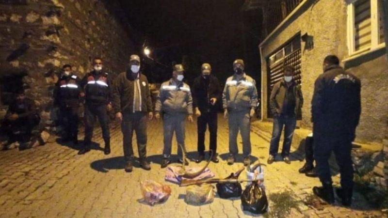 3 kişiye kaçak avdan toplam 120 bin lira ceza