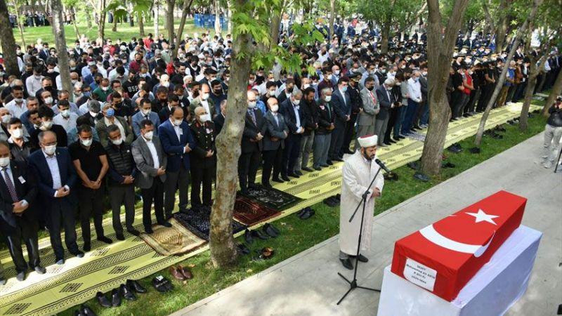 Şehit Er Muhammed Ali Akın son yolculuğuna uğurlandı