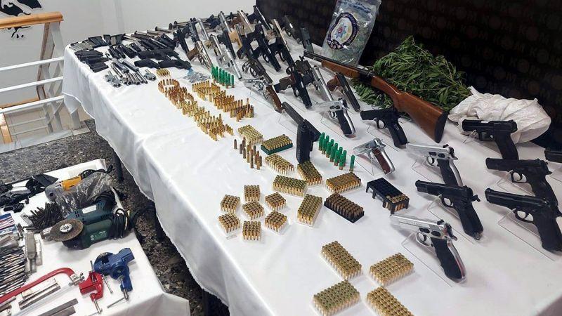 Konya ve İzmir'de yasa dışı silah ticareti operasyonu! 38 yer arandı, çok sayıda gözaltı var