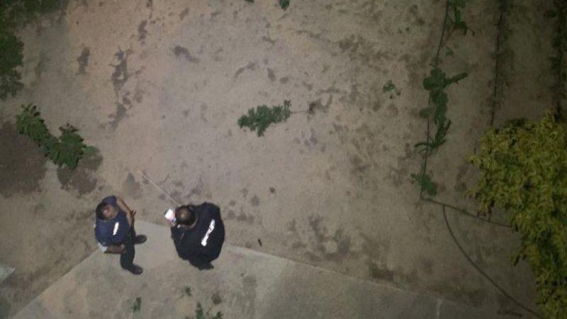 Aile kavgası ihbarına giden polis hiç beklemediği bir manzarayla karşılaştı