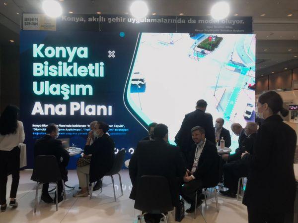 Konya Büyükşehir'in Akıllı Şehircilik Uygulamaları fuarın ilgi odağı oldu
