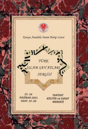 Konya'da Türk-İslam sanatları sergisi ziyarete açılıyor