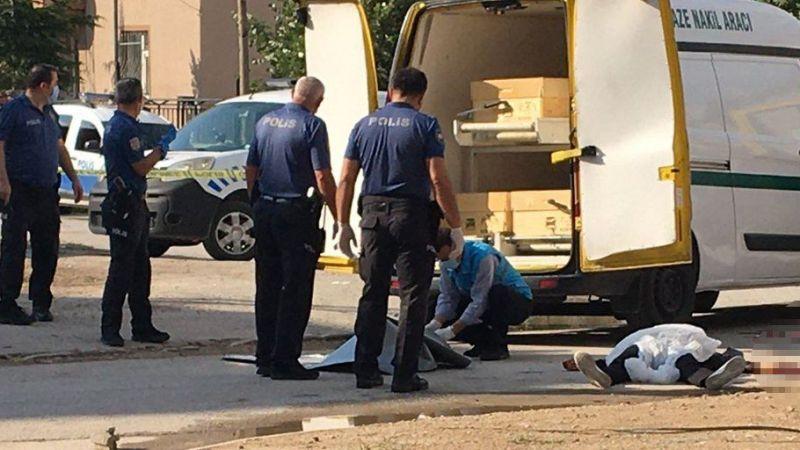 Dini nikahlı eşini sokak ortasında öldürdükten sonra intihar etti
