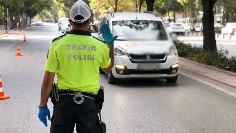 5 Günde 1.596 sürücüye kural ihlalinden ceza