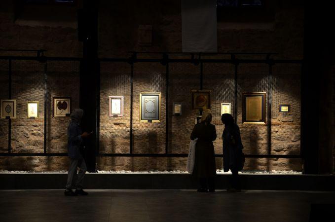 Konya'da Türk-İslam sanatı eserleri sergisi ziyarete açıldı