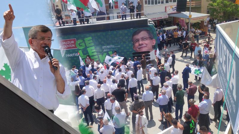 Ahmet Davutoğlu Ereğli'de Konuştu