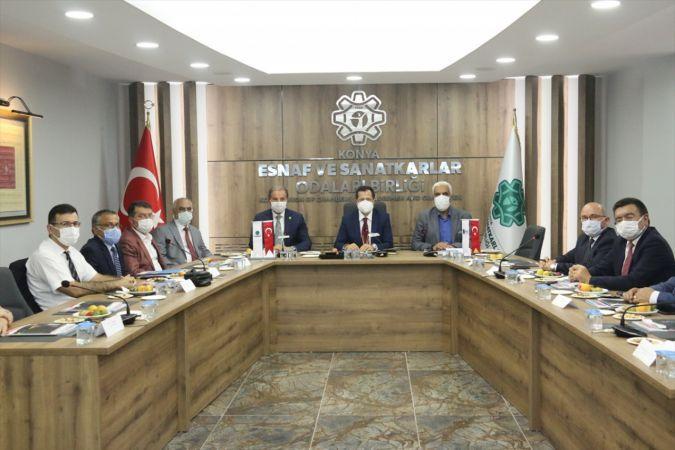 TBMM Sanayi, Ticaret, Enerji, Tabii Kaynaklar, Bilgi Ve Teknoloji Komisyonu Başkanı Altunyaldız, Konya'da konuştu:
