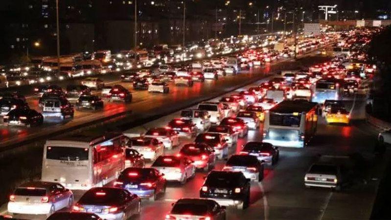 Konya'da araç sayısında bir yılda inanılmaz artış