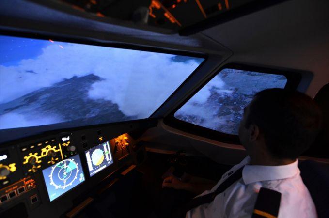 Konyalı iş insanı Airbus yolcu uçağı simülatörü üretti