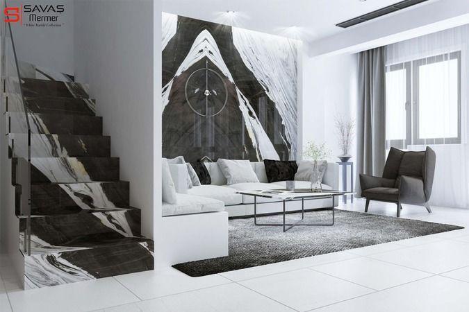Gri ve Beyazın Doğal Ahengi: Carrara Mermer