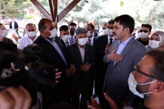 Çevre ve Şehircilik Bakanı Kurum Konya'da