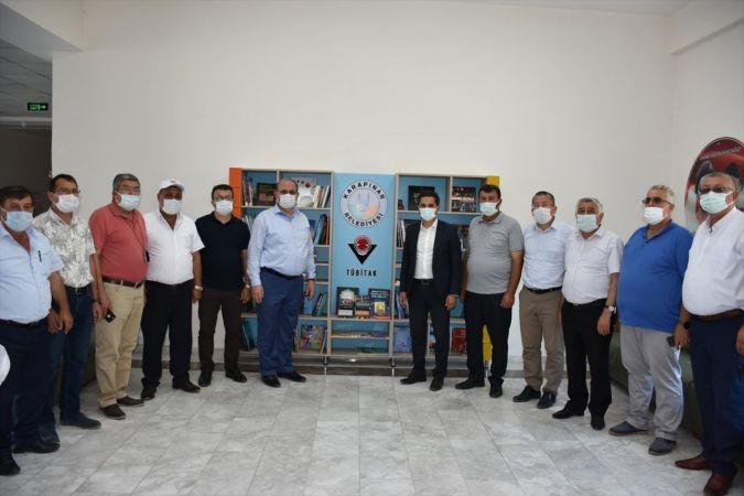 Karapınar'da TÜBİTAK Bilim Kitaplığı Projesi