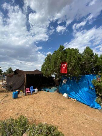 Bozkır Kaymakamı Akın, yörük çadırına misafir oldu
