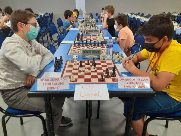 """Konya'da """"Yıldızlar ve Küçükler Takım Satranç Şampiyonası"""" yapıldı"""