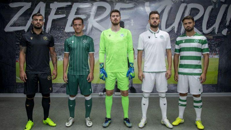 Konyaspor, yeni sezonda bu formaları giyecek