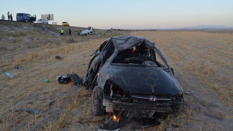 Aksaray'da korkunç trafik kazası! Ölü ve yaralılar var