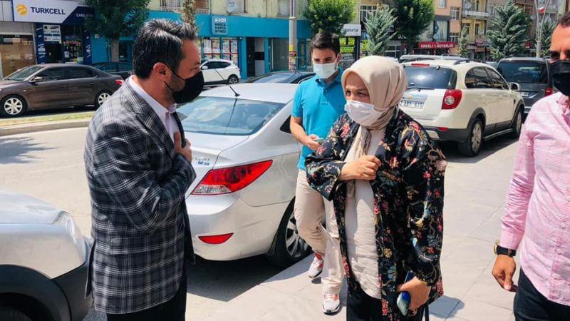 AK Parti Kadın Kolları Genel Başkanı Ayşe Keşir Ereğli'de