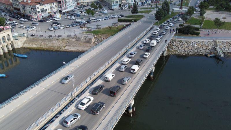 Beyşehir'de 9 günlük tatil yoğunluğu