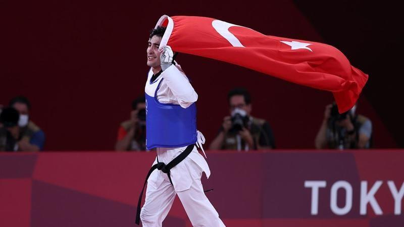 Tokyo'dan Türkiye'ye madalyalar gelmeye başladı! İlk madalya Hakan Reçber'den