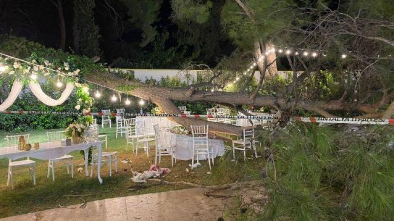 Düğünde felaket! 1 kişi öldü, 9 yaralı var