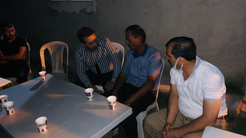 Gazi Gökhan Akviran'ın babaevine AK Parti'den ziyaret