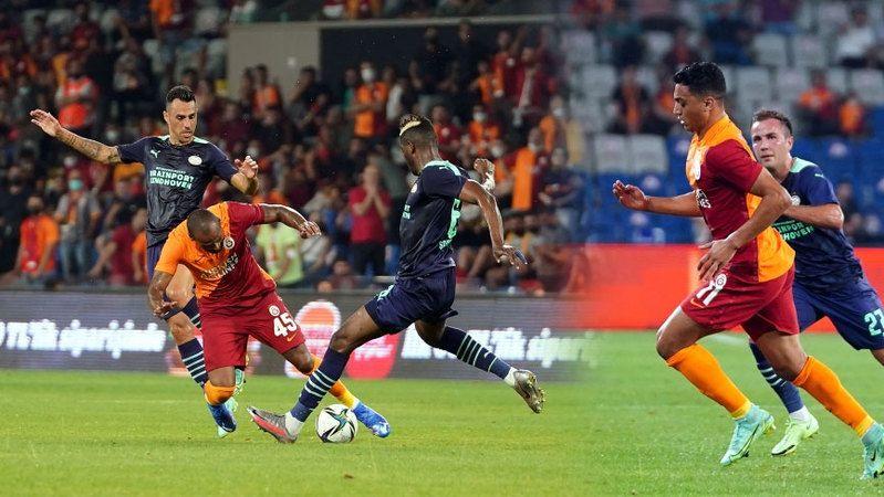 Galatasaray devler ligine veda etti
