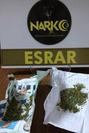 Akşehir'de uyuşturucu operasyonunda 2 gözaltı