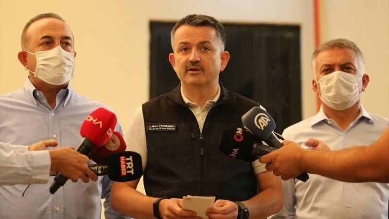 Korkunç yangında can kaybı artıyor! Bakan Pakdemirli açıklama yaptı