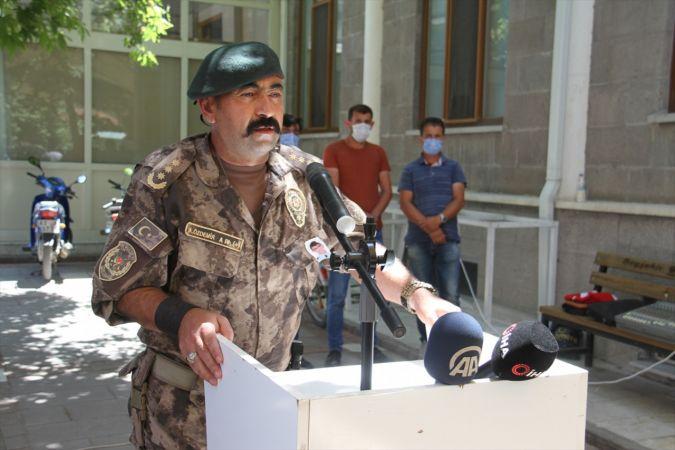 Aydın'da boğun polis memuru son yolculuğuna uğurlandı