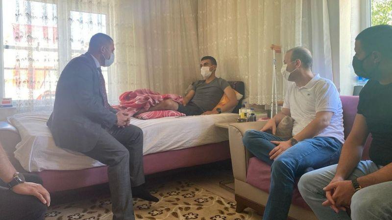 MHP'den Gazi Gökhan Akviran'a ziyaret
