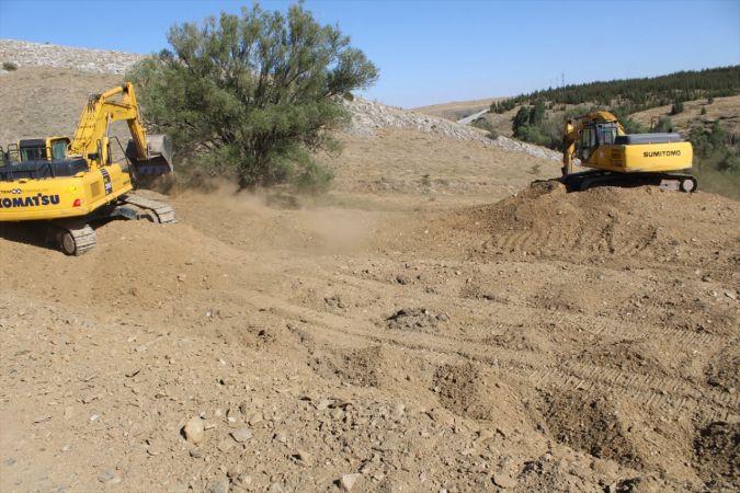 Yunak'ta 250 milyon liraya mal olacak kara yolu yatırımı için çalışmalara başlandı