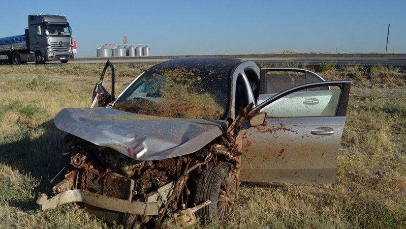 Otomobil koyun sürüsüne çarptı! Çoban öldü