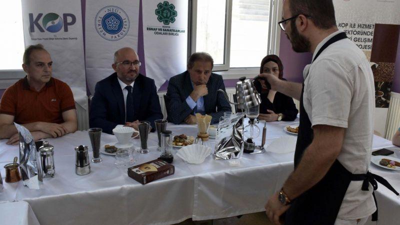 Türkiye'nin uluslararası kahve uzmanları Konya'da yetişiyor