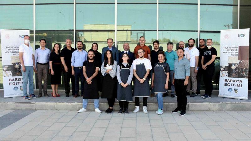 Türkiye'nin kahve uzmanları, KOP desteğiyle Konya'da yetişiyor