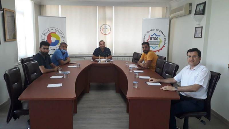 Beyşehir Ticaret ve Sanayi Odası'nda orman yangınlarıyla mücadele toplantısı