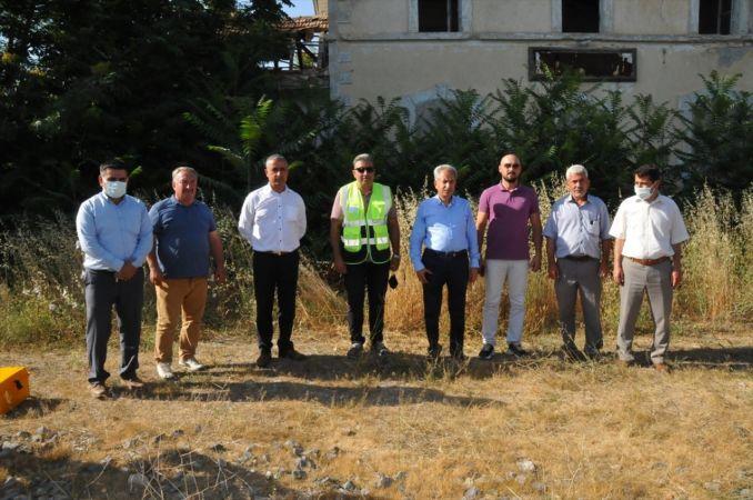 Akşehir OSB için demiryolu çalışmaları