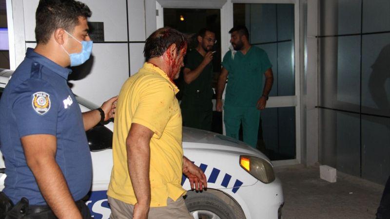 Kavgaya müdahale eden Polisin ayağı otomobilin altında kaldı