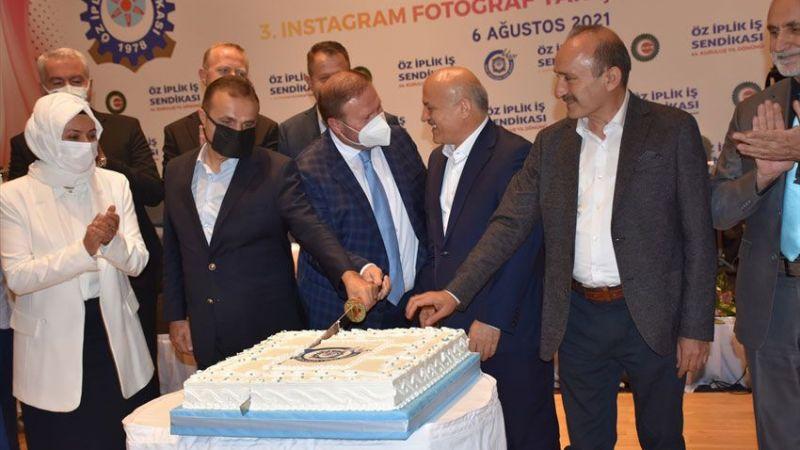 Öz İplik İş Sendikası, 44. kuruluş yıl dönümünü kutladı