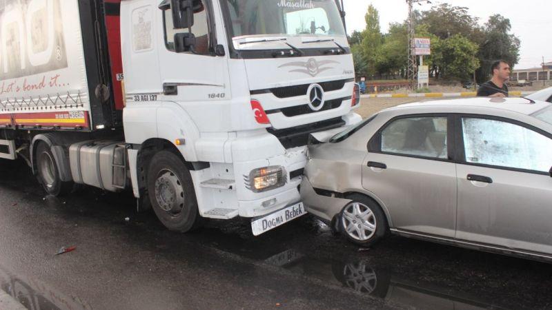 Ereğli yolunda trafik kazası! Ucuz atlatıldı