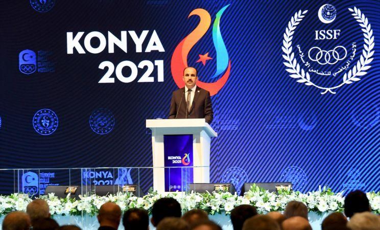 Konya'da düzenlenecek İslami Dayanışma Oyunları için geri sayım başladı