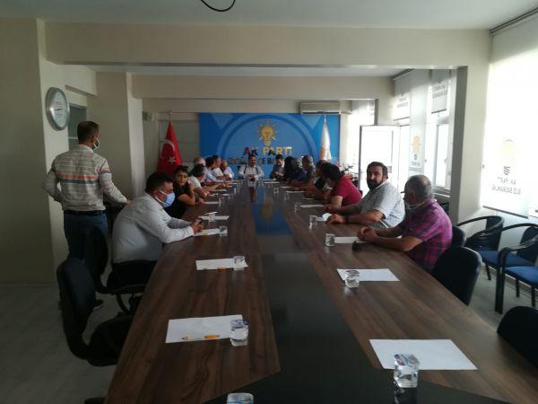 Ak Parti Konya Milletvekili Hacı Ahmet Özdemir Ereğli'deydi