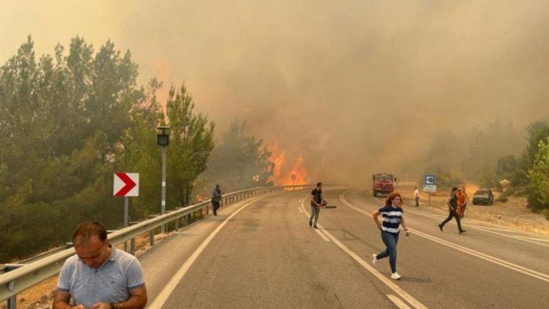 Akseki yangının şüphelisi, bir ay önce de 20 hektar ormanı yakmış