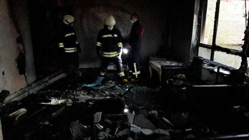 Kulu'da ev yangını kısa sürede söndürüldü