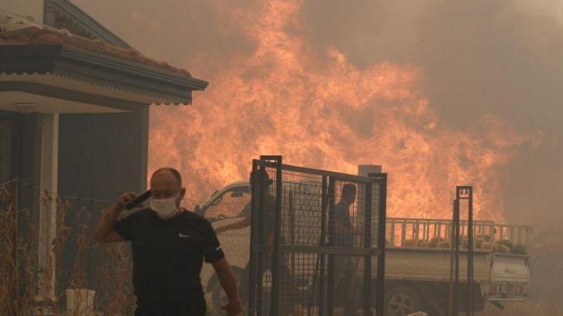 Antalya'nın Manavgat ilçesinde yeniden orman yangını çıktı