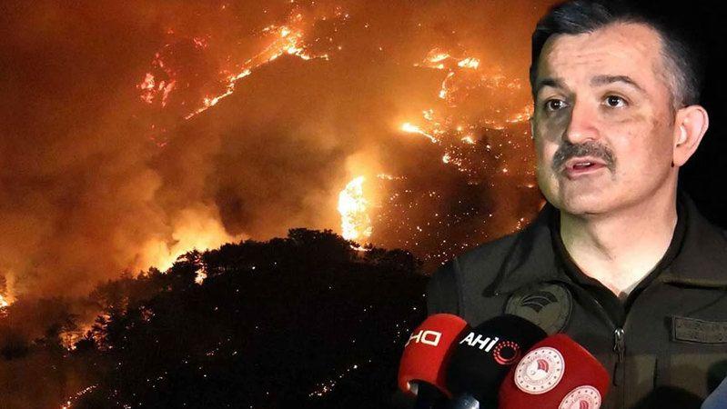 Son dakika: Orman yangınları kontrol altına alındı